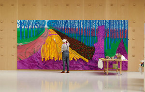 DAVID HOCKNEY IN DER ROYAL ACADEMY OF ARTS