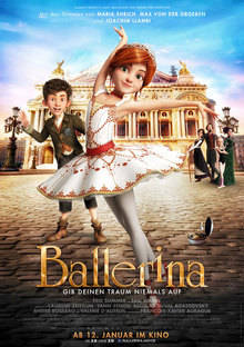 Home ballerina plakat