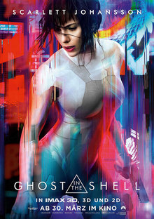 Home ghost shell plakat