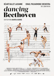 Home dancing beethoven poster