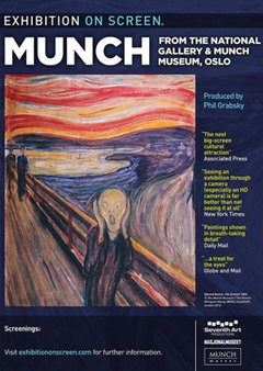 Munch - Munch 150 Exhibition on Screen