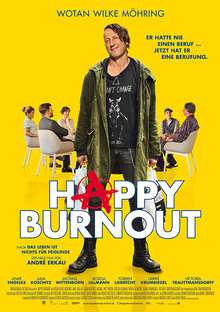 Home plakat happy burnout
