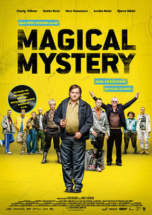Home magical mystery plakat