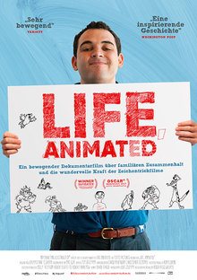 Home life animated plakat