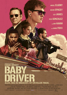 Home babydriver plakat