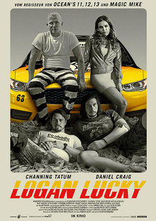 Home plakat logan lucky