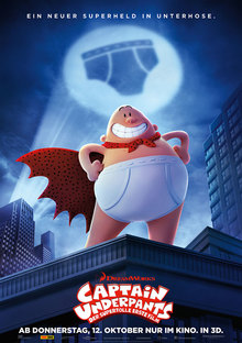 Home captainunderpants poster