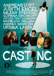 Home casting plakat