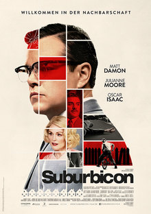 Home suburbicon plakat