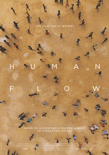 Home human flow plakat