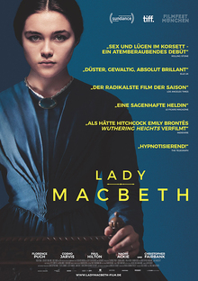 Home lady macbeth plakat