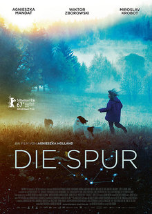 Index l die spur plakat