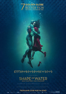 Home shapeofwater plakat