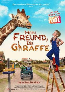 Home mein freund die giraffe plakat