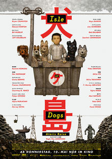 Home isleofdogs plakat