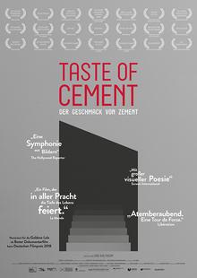 Index l taste of cement plakat