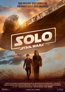 Home solo starwars plakat