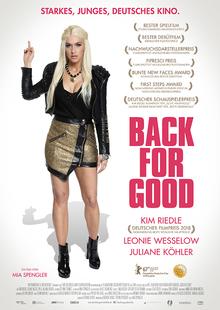Index l back for good plakat