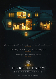 Home hereditary plakat