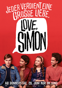 Home lovesimon poster