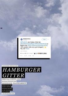 Home hamburgergitter plakat